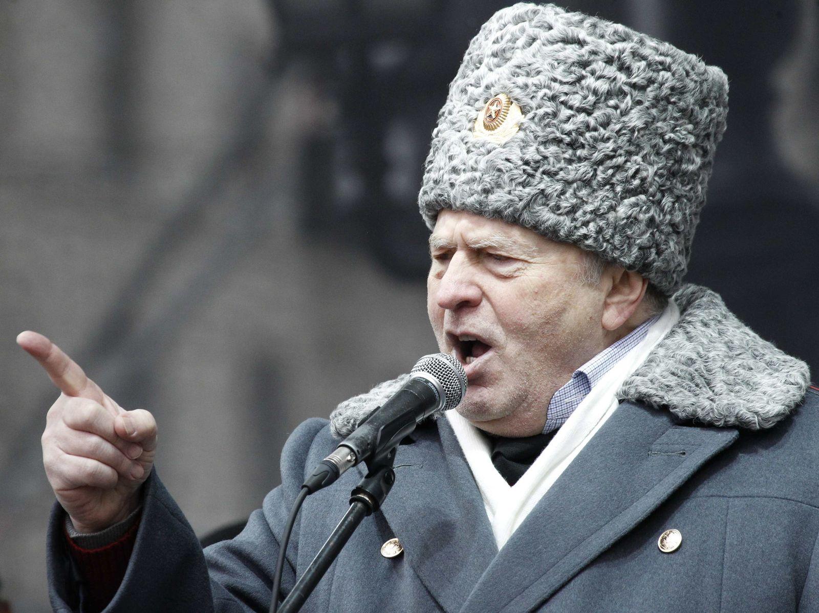 Wahlen Russland/ Schirinowski