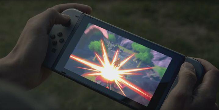 Switch als Handheld