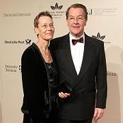 Ankepetra Müntefering mit ihrem Mann: Langes Krebsleiden