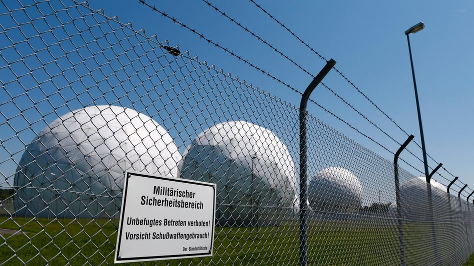 A former NSA monitoring base in Bad Aibling, Germany: Only now is the scope of spying becoming clear.