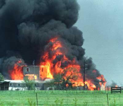 Tod in Waco: Im April 1993 sterben Angehörige der Davidianer-Sekte