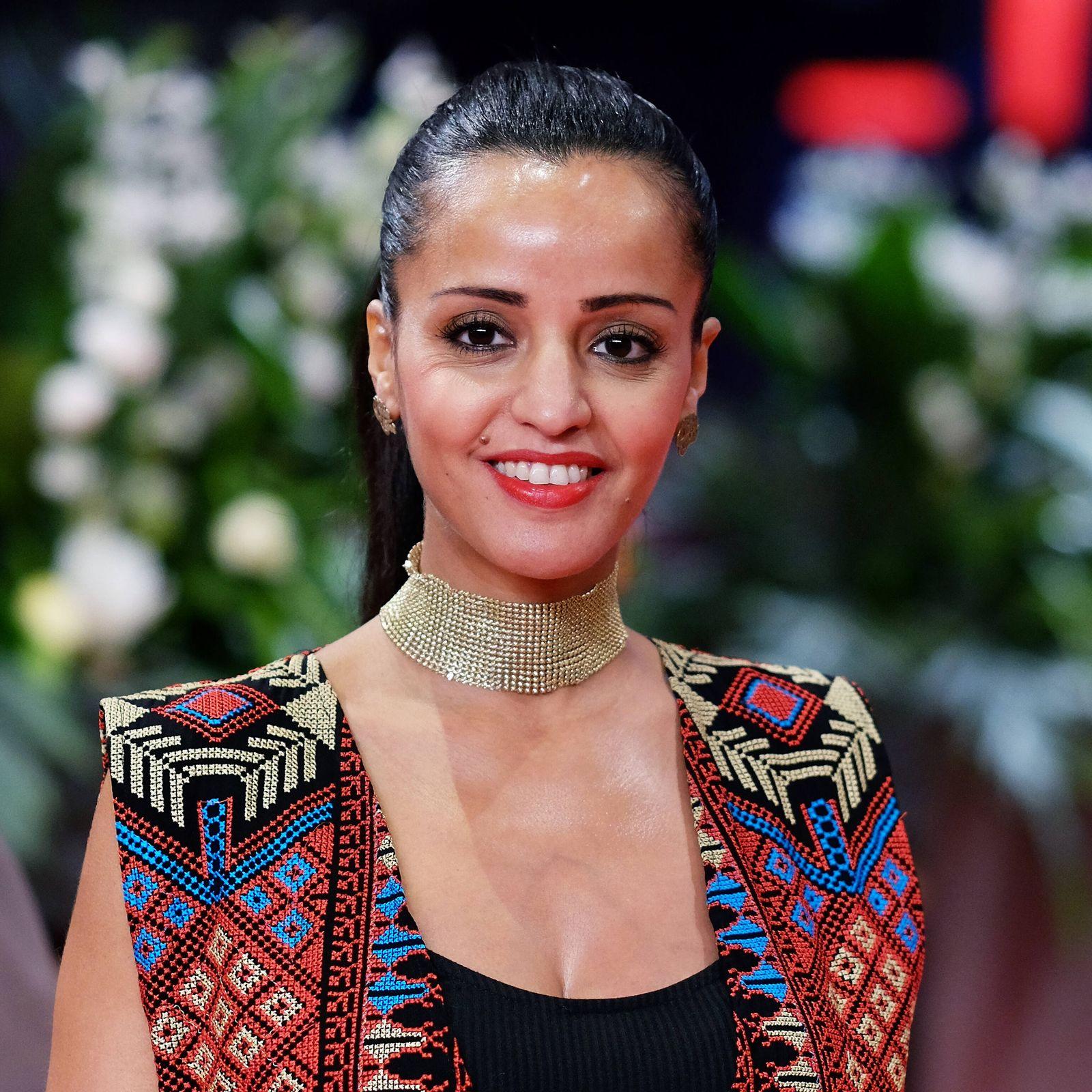 Politikerin Sawsan Chebli anl‰sslich der Preisverleihung der 70. Internationalen Filmfestspiele Berlin snapshot-photogra