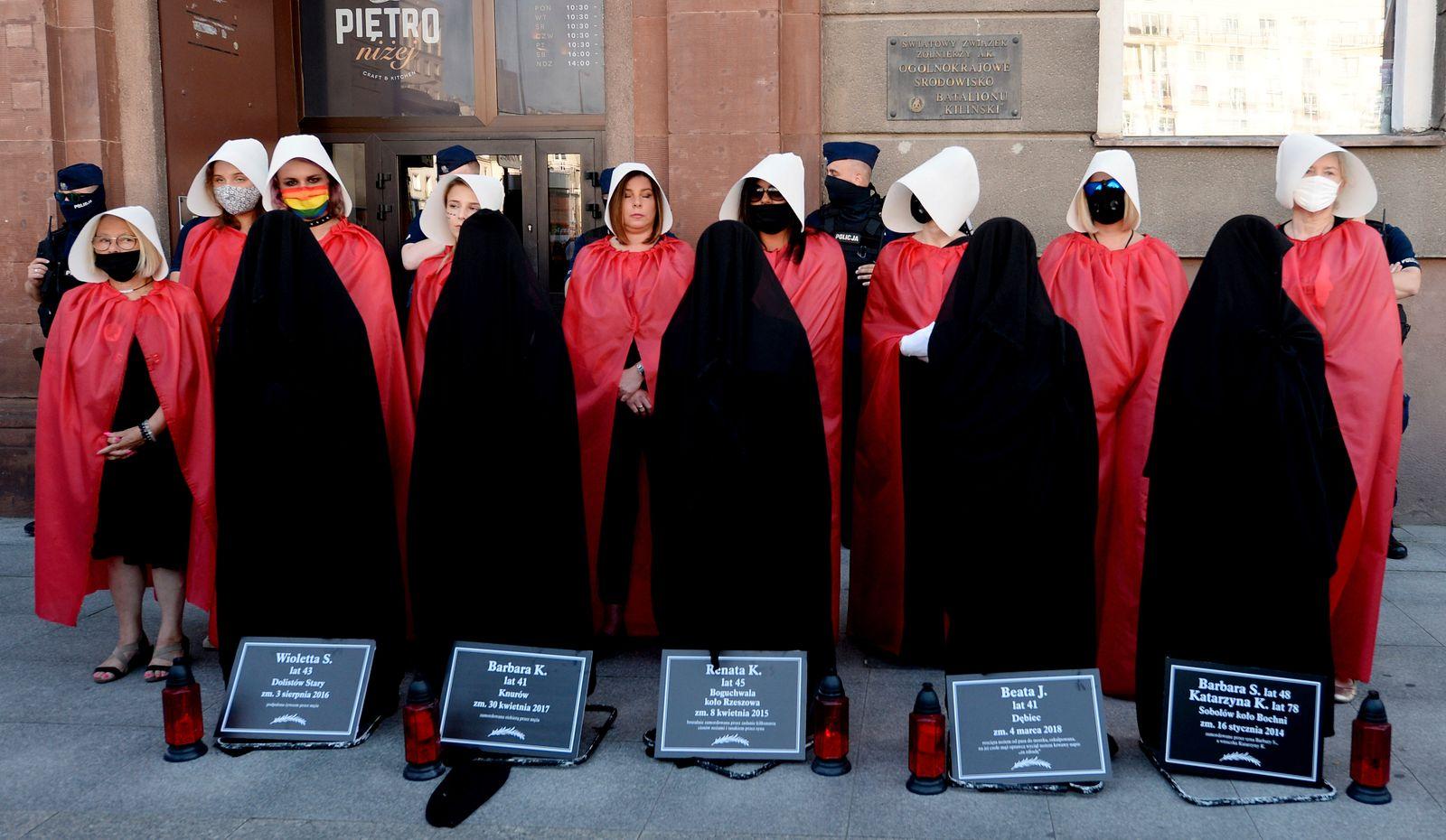 Proteste in Polen gegen Rückzug aus Frauenrechtsabkommen
