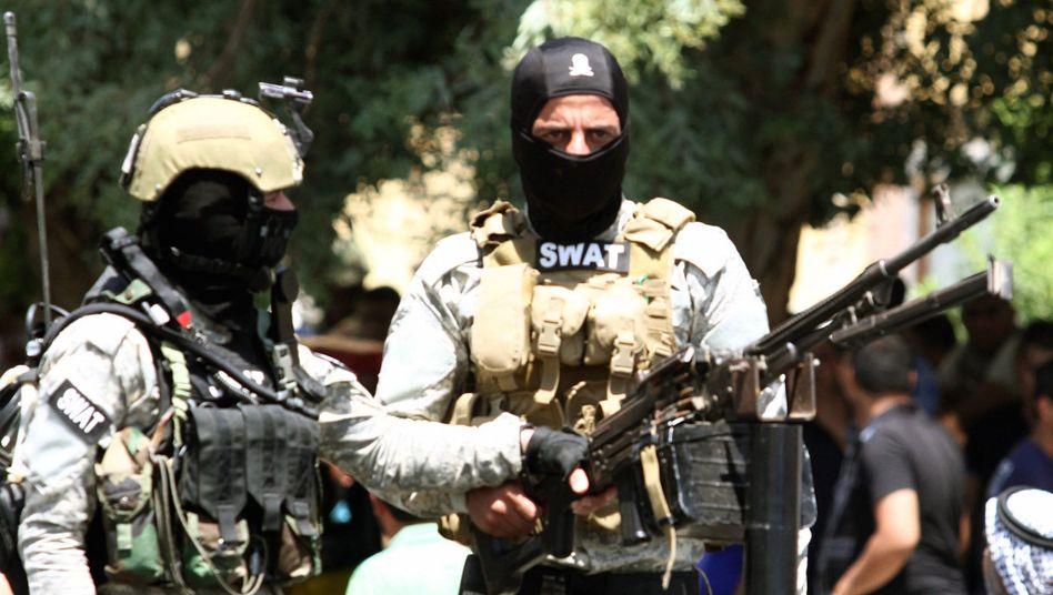 Maliki-treue Sondereinheit in Bagdad: Der Premier will nicht von der Macht lassen