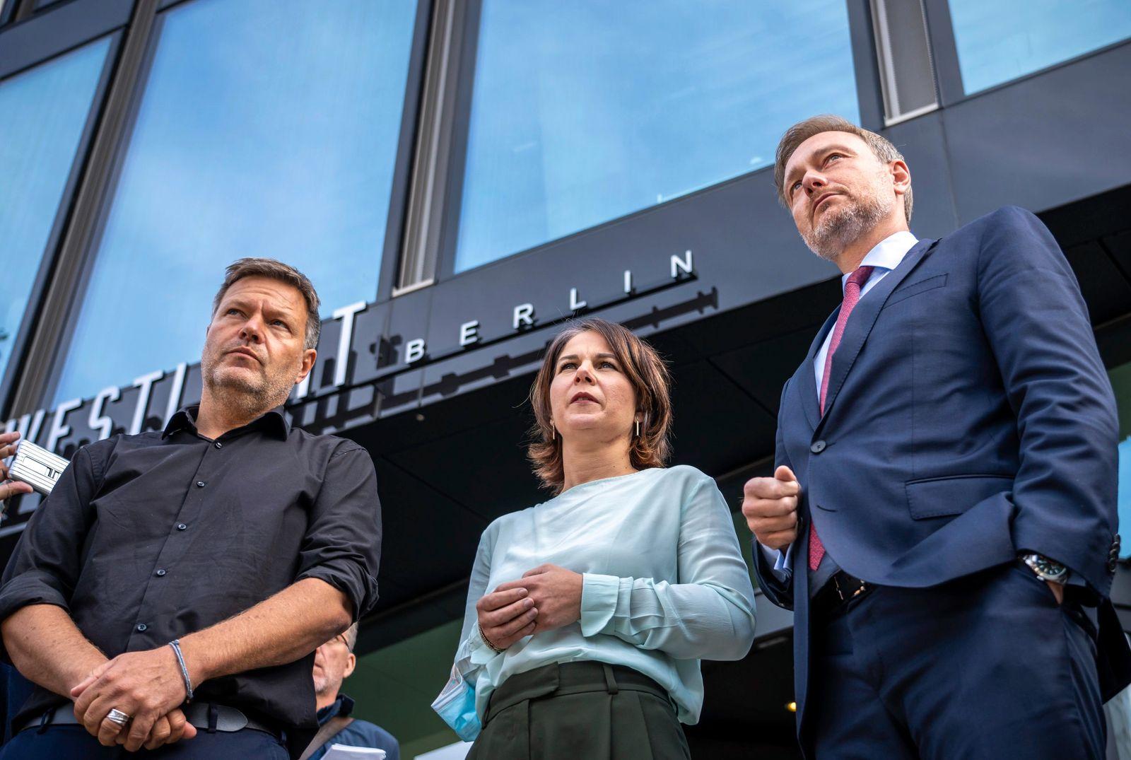 Sondierungsgespräche von Bündnis 90/Die Grünen und FDP