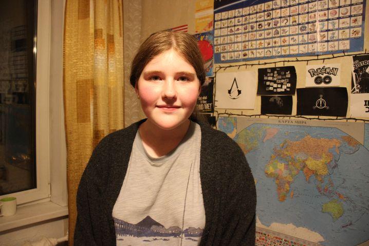 "Tochter Arina Anistratenko: ""Papa, lass uns zur Demonstration gehen"""