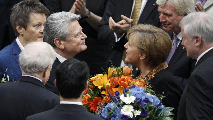 Entscheidung in Berlin: Glückwünsche für den neuen Bundespräsidenten