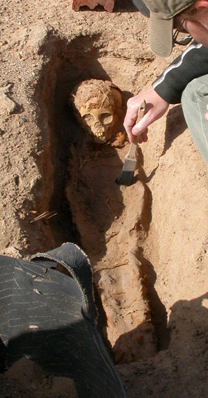 Ausgrabung in Ägypten: Im März und April kamen die meisten Kinder auf die Welt