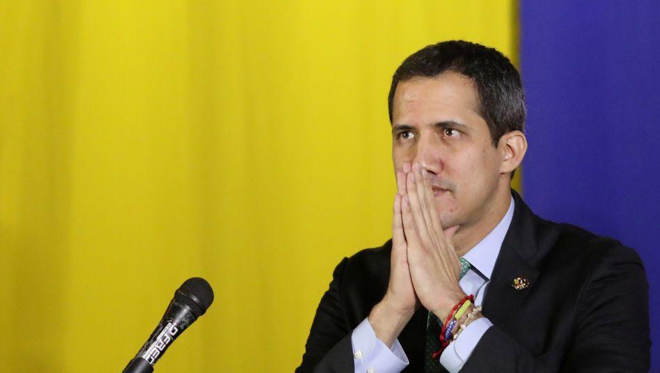 Hoffnungsträger in der Sackgasse: Juan Guaidó hat sich nach einem gescheiterten Umsturzversuch aus der Öffentlichkeit zurückgezogen