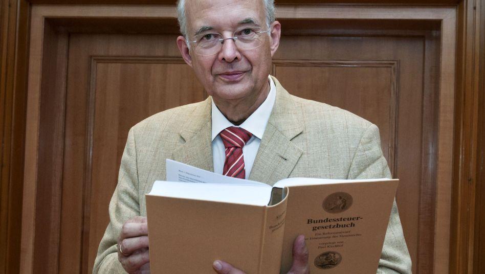 Steuerrechtler Paul Kirchhof: Ein Mann, ein Buch, alle Steuern