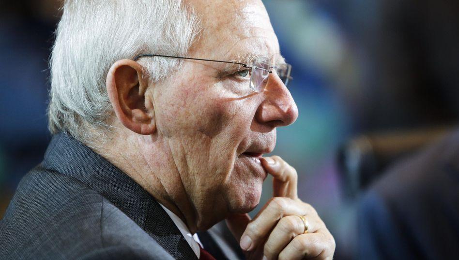 Finanzminister Schäuble: Mehr Einnahmen auf Kosten der Bürger