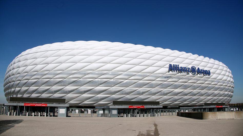 Die Arena in Fröttmaning