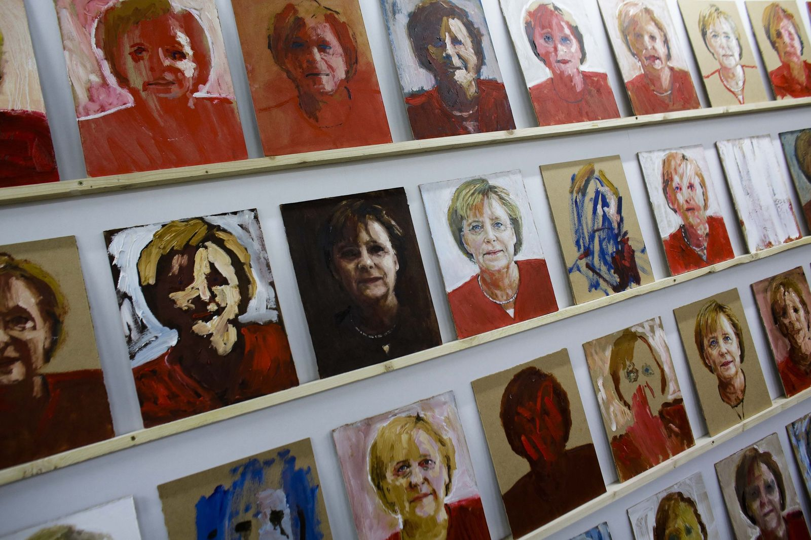 Germany Elections Art