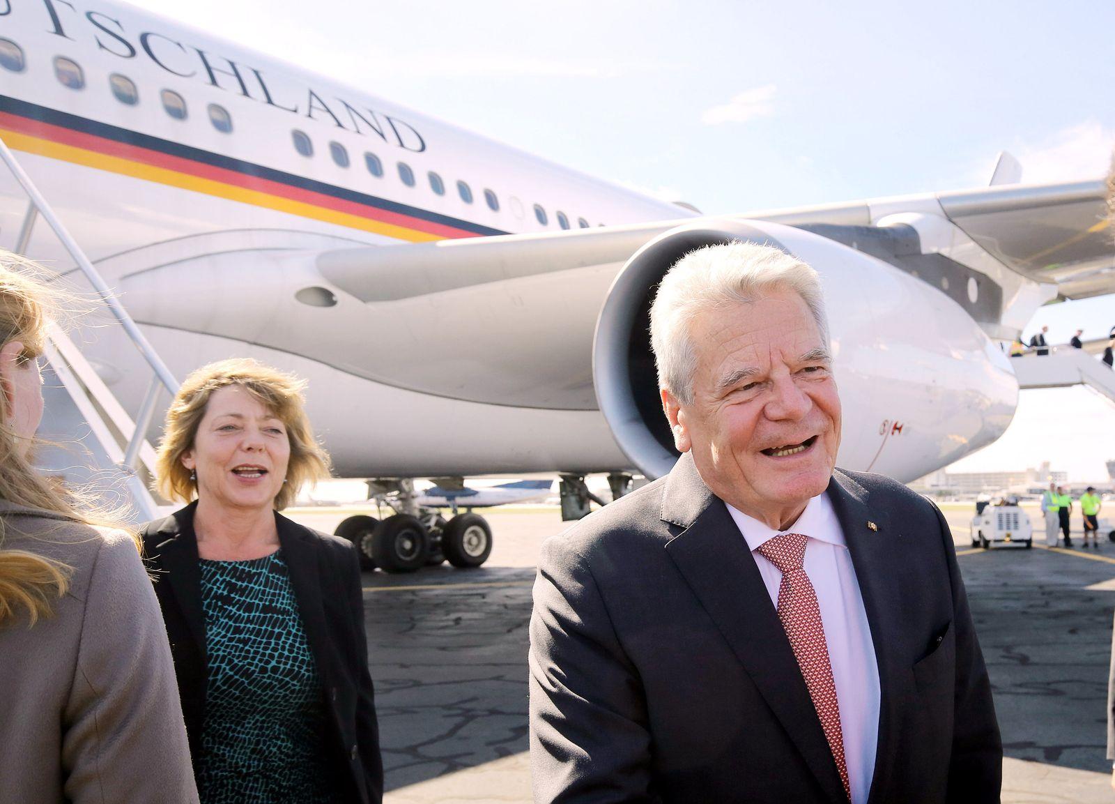 Joachim Gauck / Daniela Schadt / USA