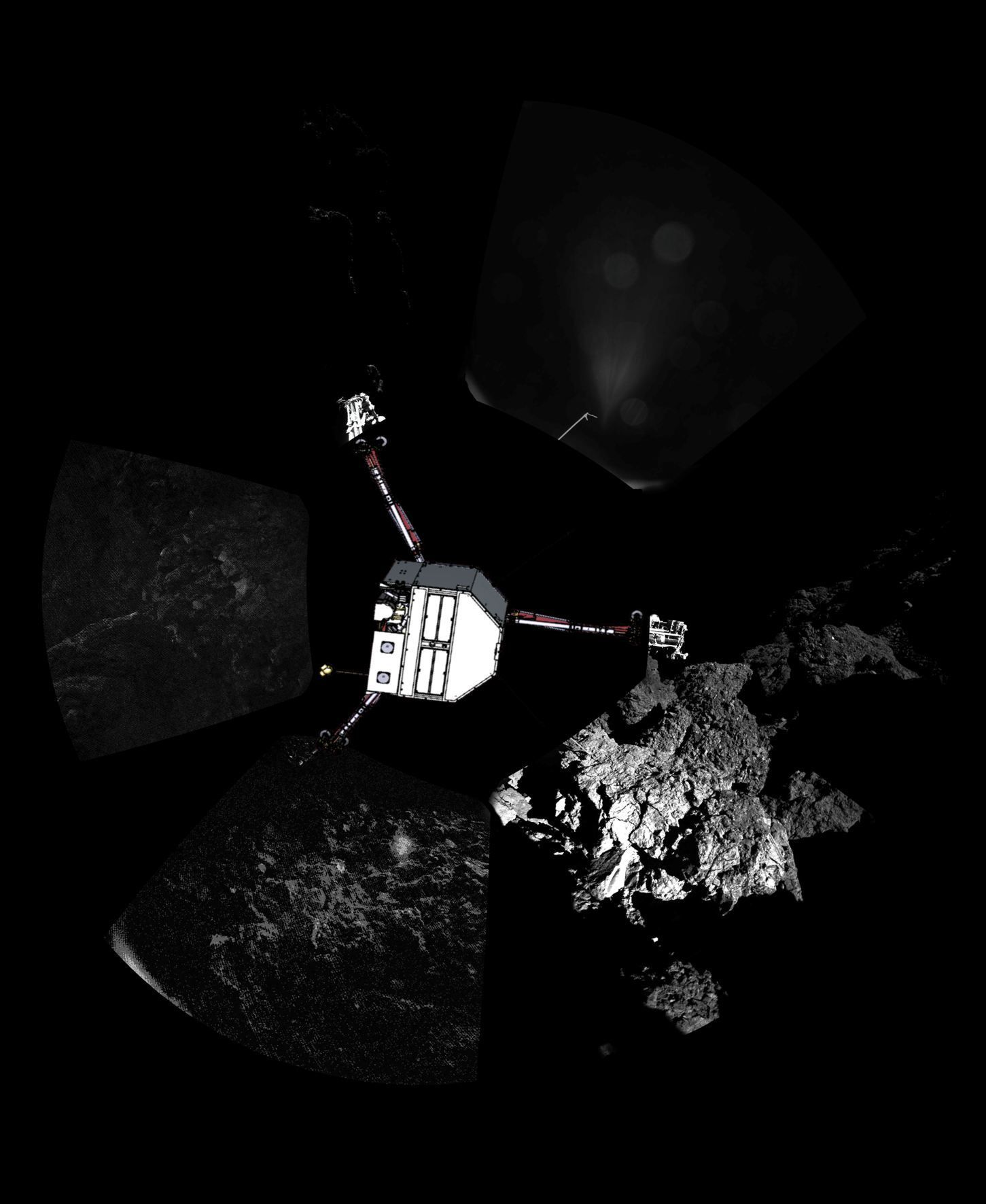 Philae / ESA / dpa