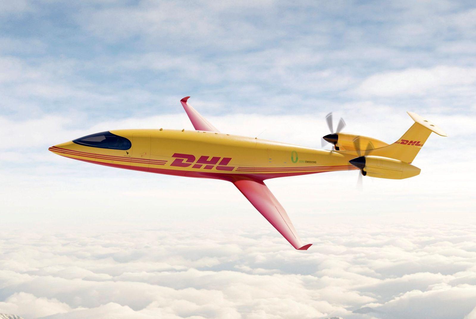 DHL Elektroflugzeuge