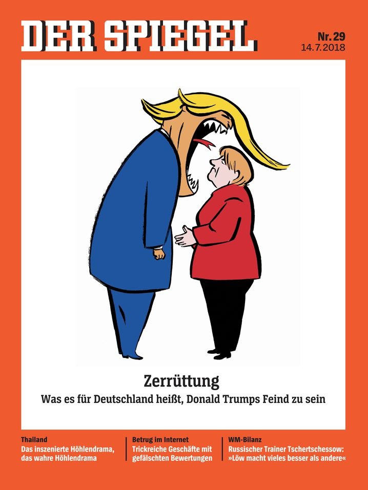 The article you are reading is part of the cover package in this week's issue of DER SPIEGEL.