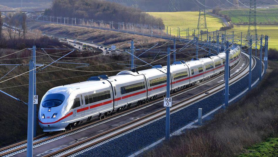 ICE-Neubaustrecke München - Berlin