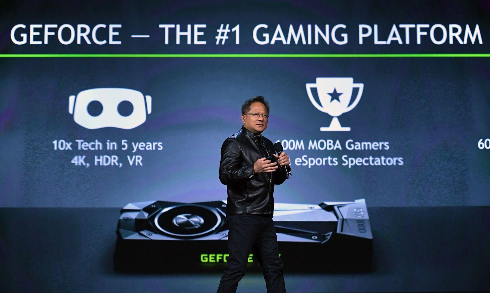 CES 2017/ Nvidia/ Jen-Hsun Huang