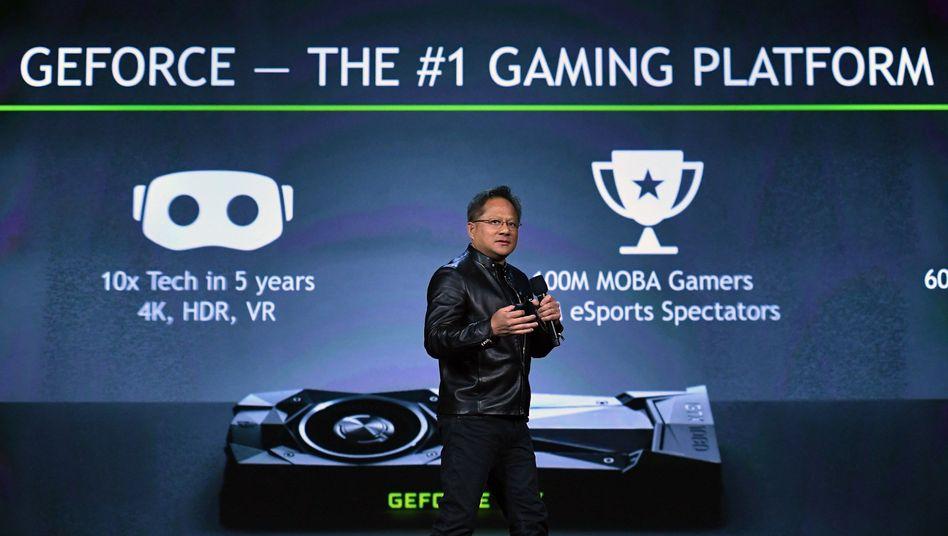 Nvidia-Chef Huang