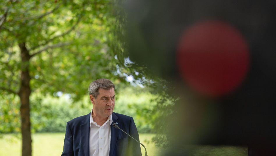 """Bayerischer Ministerpräsident Söder: """"Signal für die Umwelt setzen"""""""