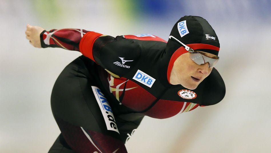 Eisschnellläuferin Pechstein: Sieg in Seoul