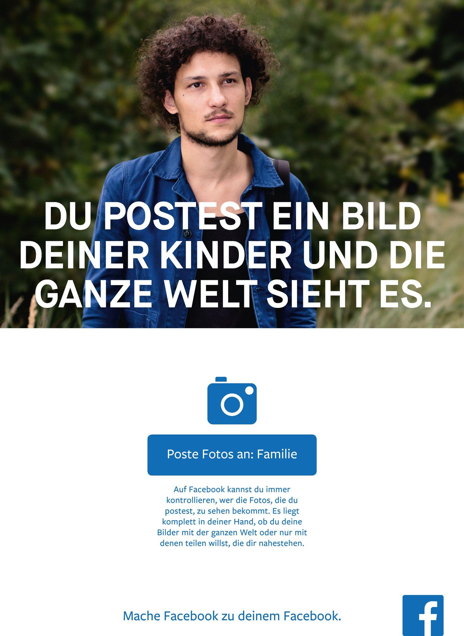 NUR ALS ZITAT Screenshot Facebook Werbung