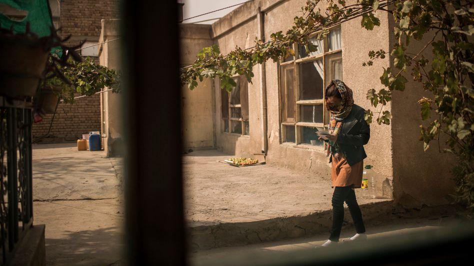 Fußballerinnen in Kabul im Oktober 2019: Auf der Straße beschimpft und bespuckt