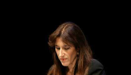 Autorin Shalev (bei einer Lesung in Köln): Unglaublich traurig und schockiert