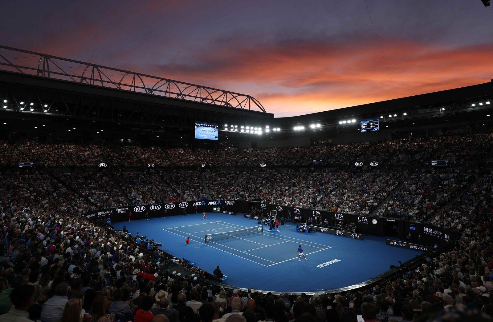 Tennis - Australian Open - Men's Singles Final