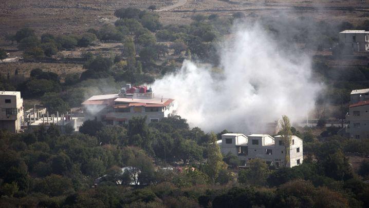Golanhöhen: Israel feuert Rakete nach Syrien
