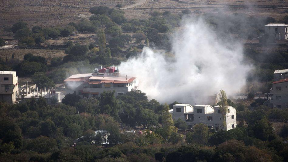 Naher Osten: Israel feuert Warnschüsse auf Syrien