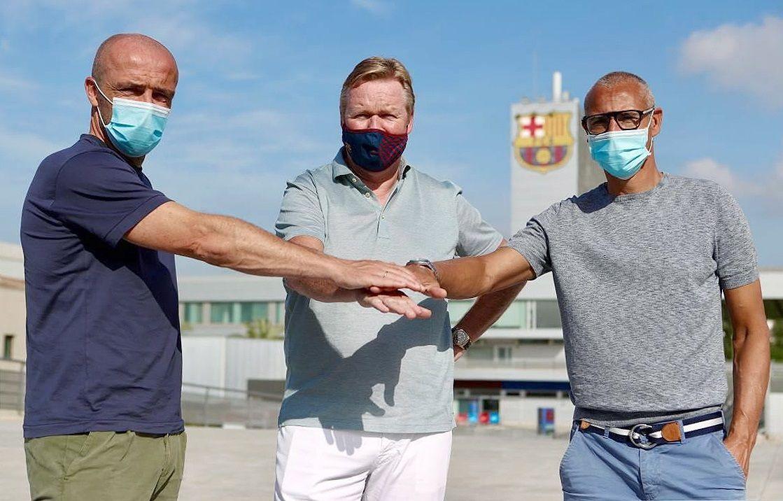 Ronald Koeman presents his assistants at FC Barcelona, Spain - 21 Aug 2020