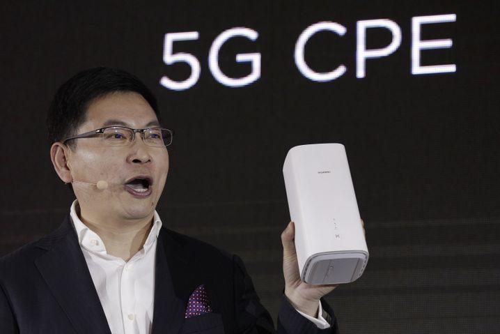 Huawei-Manager Richard Yu