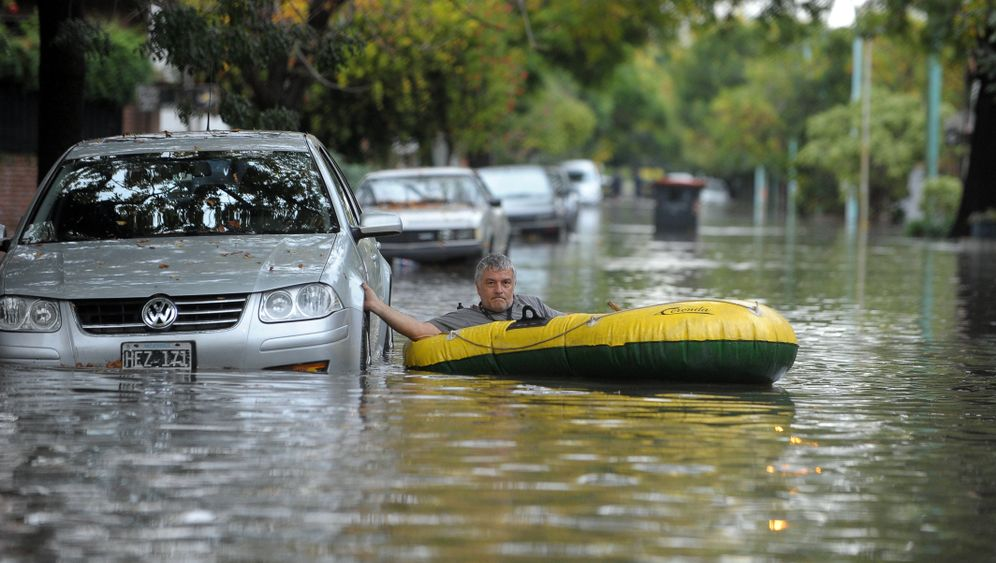 Extreme Regenfälle: Land unter in Buenos Aires