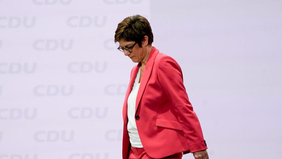 Nochvorsitzende Annegret Kramp-Karrenbauer: Unbeschwert ist hier niemand