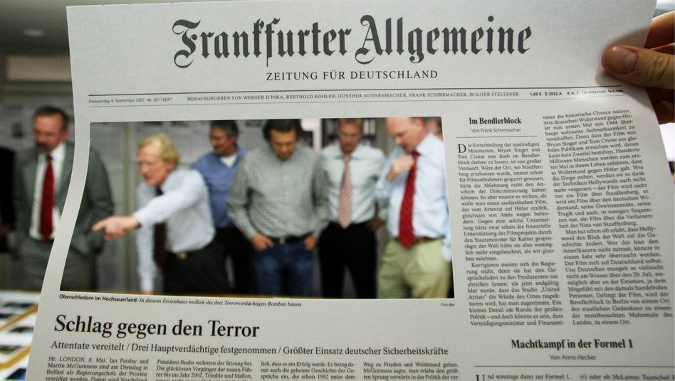 """""""FAZ""""-Redakteur mit Titelseite: Dahinter steckt besser kein müder Kopf"""