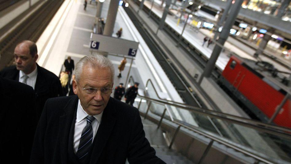 Rüdiger Grube in Berlin (Archiv): Bahnstrecke Moskau-Kasan seit langem geplant
