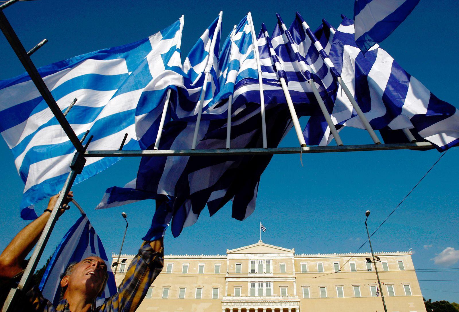 NICHT VERWENDEN Griechenland / Parlament