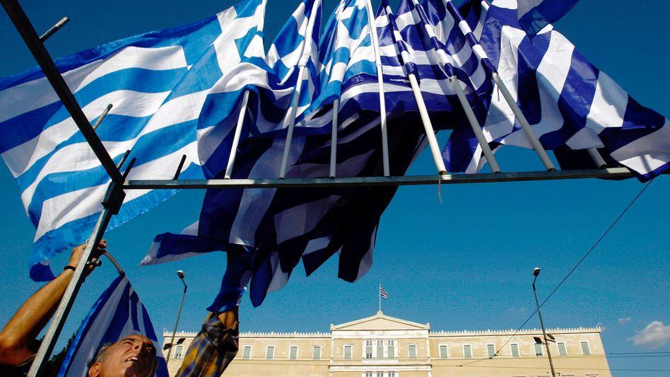 Parlament in Athen: Täglich neue Hiobsbotschaften