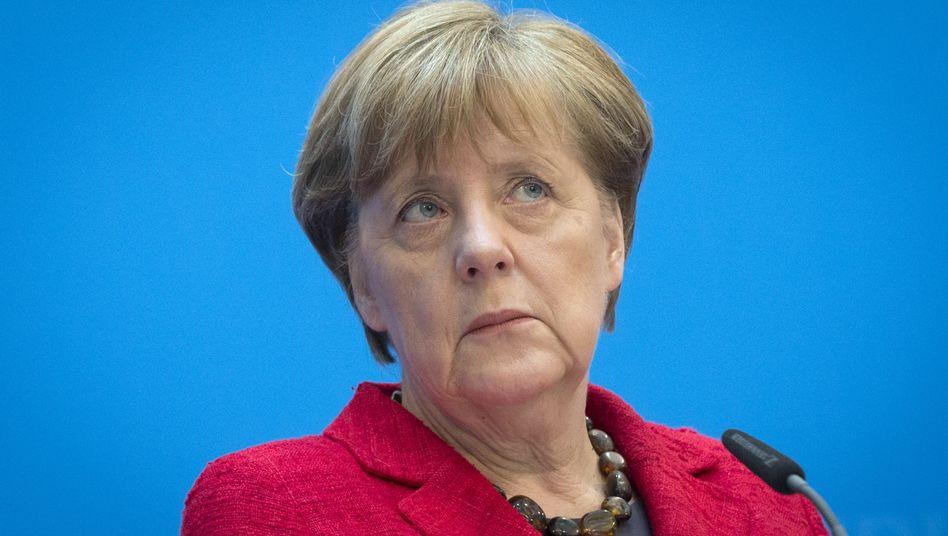 Merkel nach den Landtagswahlen: Kann passieren
