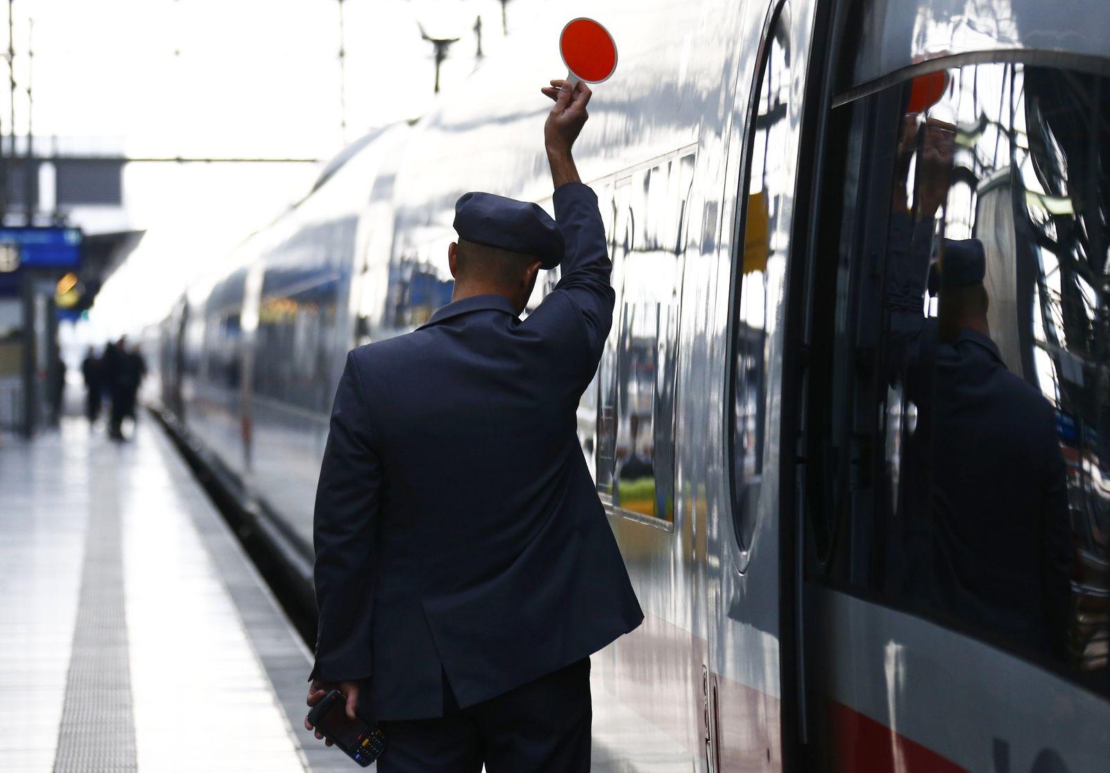 Lokführerstreik/ Bahn/ GDL