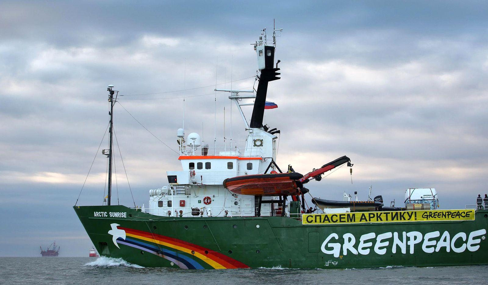 Greenpeace / Arctic Sunrise / Gazprom