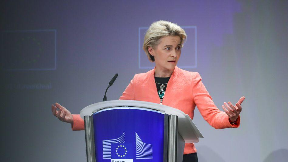 Kommissionschefin Ursula von der Leyen