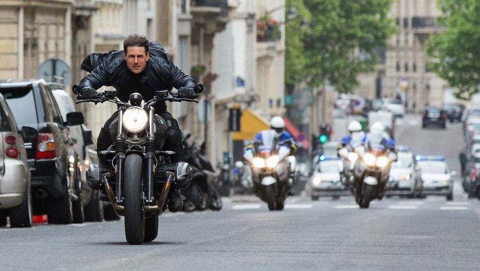 """Tom Cruise als Ethan Hunt in """"Mission Impossible - Fallout"""""""