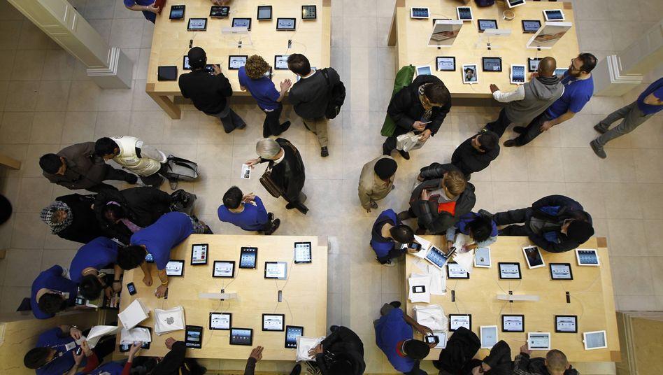 Apple-Store: Erlösung durch Technologie?