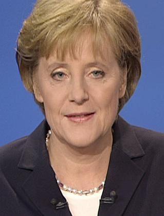 TV-Duellantin Merkel: Vorbild Reagan