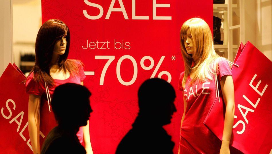 Schaufenster in Dresden: Konsum auf hohem Niveau