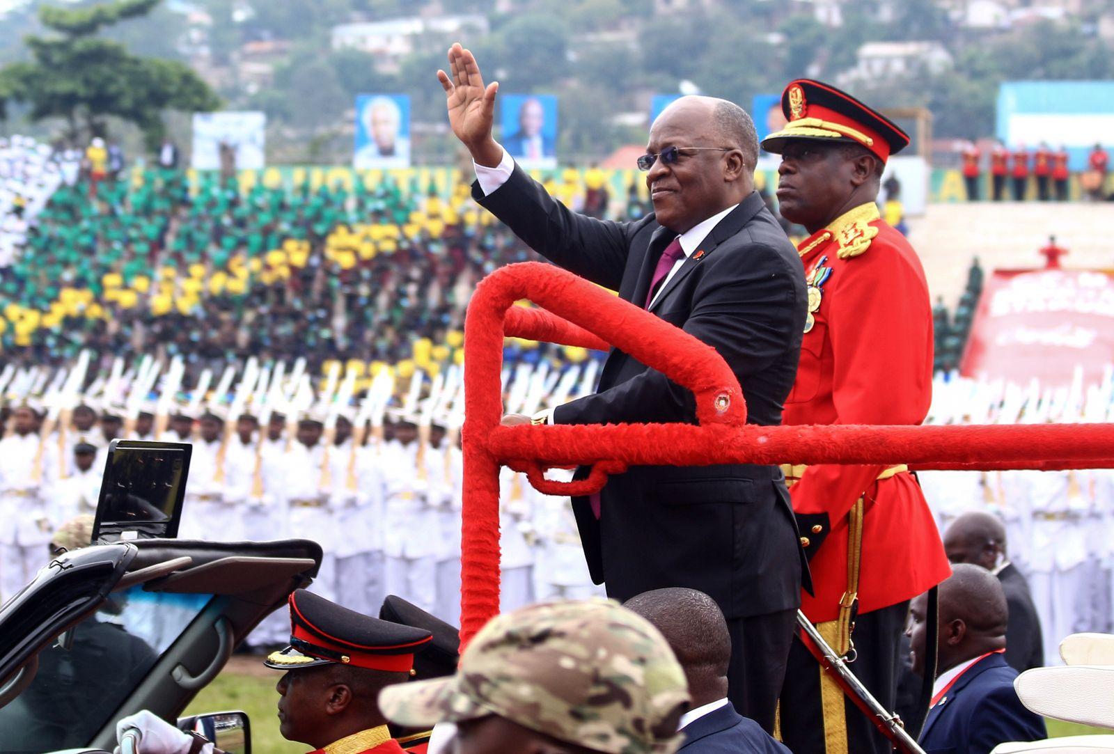 TANAZANIA-POLITICS-ANNIVERSARY-INDEPENDENCE