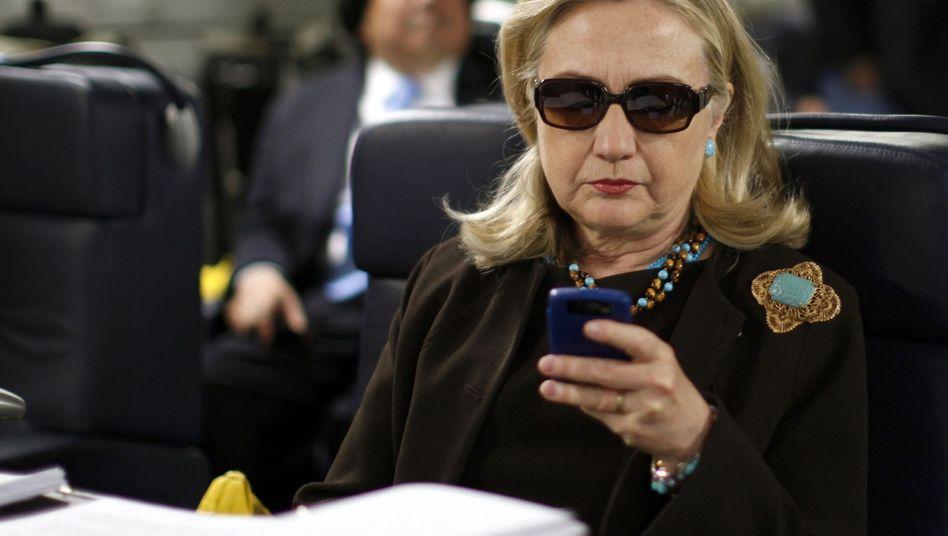 """Clinton (als Außenministerin im Jahr 2011): """"So bald wie möglich"""""""